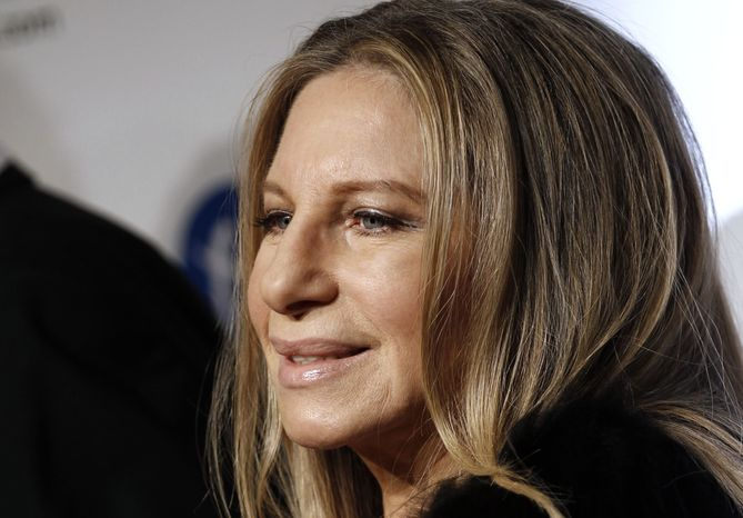 Barbra Streisand arrives at the MusiCares Person of the Year gala in her honor on Friday, Feb. 11, 2011, in Los Angeles. (AP Photo/Matt Sayles)