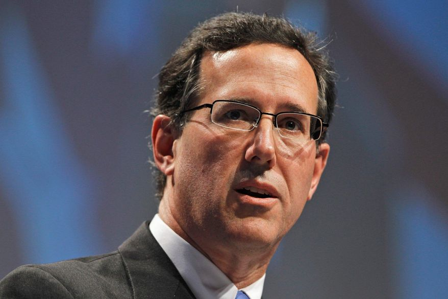 Former Sen. Rick Santorum, Pennsylvania Republican