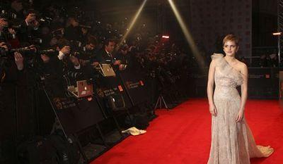 Samuel L. Jackson arrives for the BAFTA Film Awards 2011, at The Royal Opera House in London, Sunday, Feb. 13, 2011. (AP Photo/Joel Ryan)