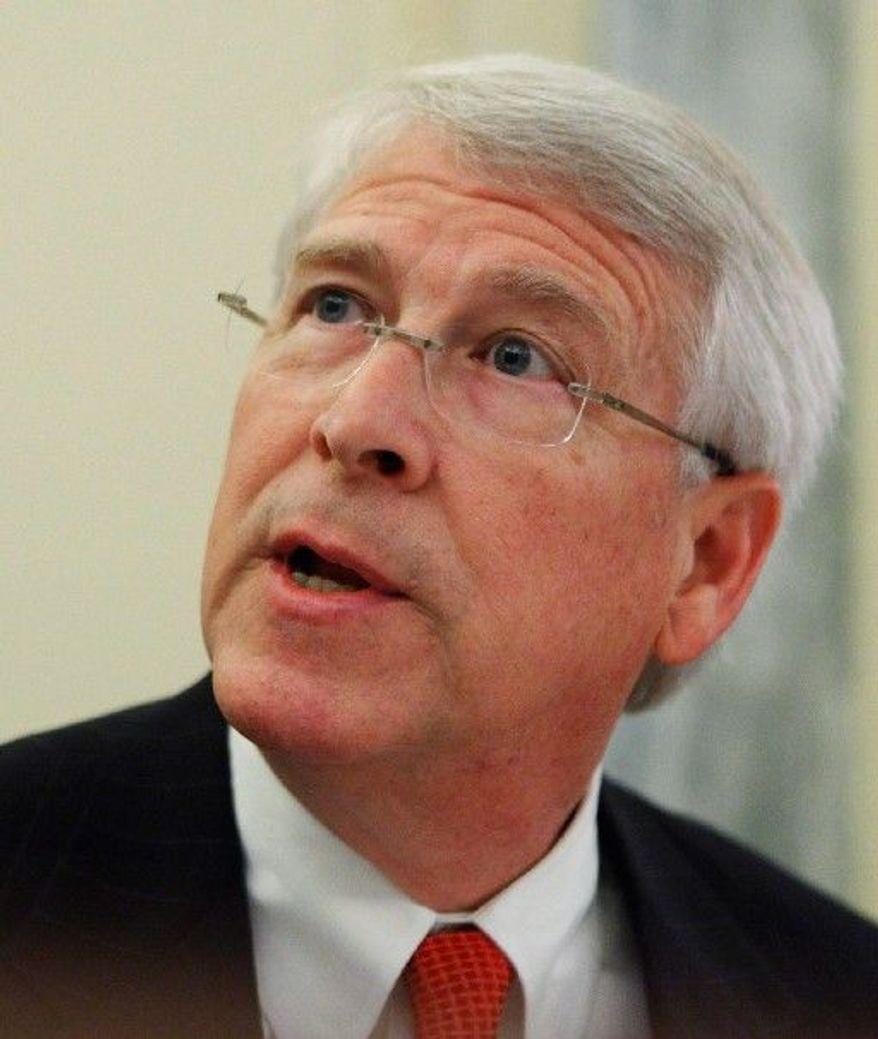 Sen. Roger Wicker, Mississippi Republican (Associated Press)