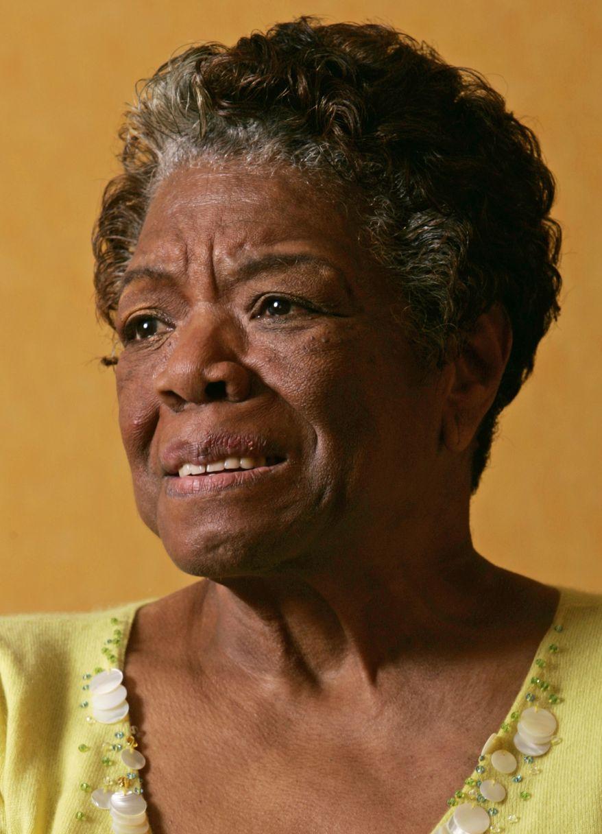 ** FILE ** Maya Angelou (AP Photo/Reed Saxon, File)