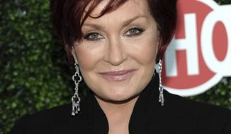 "In this July 28, 2010 photo, Sharon Osbourne, a colon cancer survivor, arrives at the CBS CW Showtime press tour party in Beverly Hills, Calif. Mrs. Osbourne and a former contestant on her VH1 show ""Rock of Love Charm School"" have settled a battery and negligence lawsuit on the eve of trial. The case was about to begin on Monday, Feb. 14, 2011. (AP Photo/Dan Steinberg, file)"