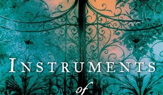 "In this book cover image released by Pamela Dorman Books, ""Instruments of Darkness,"" by Imogen Robertson is shown. (AP Photo/Pamela Dorman Books)"