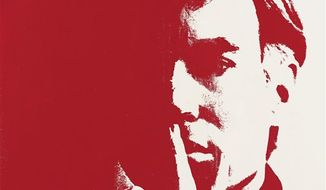 This  image released by Christie's in London on Wednesday Feb. 16, 2011 show a self portrait by Andy Warhol. The self portrait has sold for 10.8 million pounds ($17 million)  double its pre-sale estimate  at a London auction on Wednesday. Christie's says the work had been in a private collection since 1974. It is one of a series of 11 self-portraits Warhol created. (AP Photo/Christie's, Ho)  EDITORIAL USE ONLY NO ARCHIVE