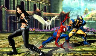 X-23, Spider-Man and Wolverine co-star in Marvel vs. Capcom 3: Fate of Two Worlds.