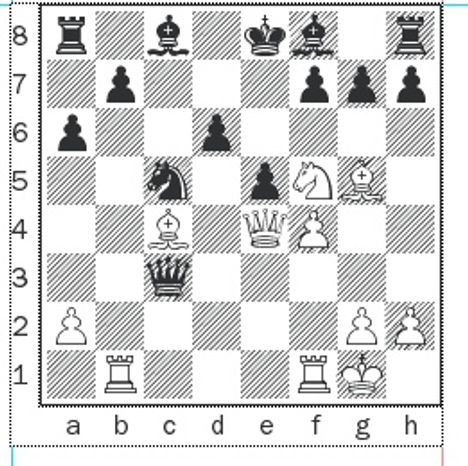 Kotronias-Xiu after 14. Bxf7+.