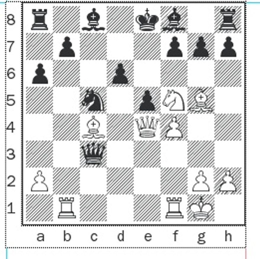 Kotronias-Xiu after 14. Bxf7+.