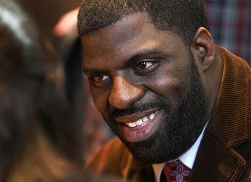 "Hip-hop artist Che ""Rhymefest"" Smith will be recognized for ""Glory,"" the Academy Award-winning song from the film ""Selma"" that he co-wrote with John Legend and Common. (AP)"