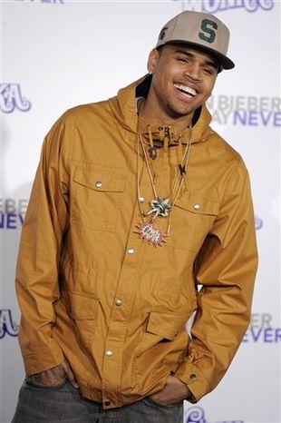**FILE** Chris Brown (Associated Press)