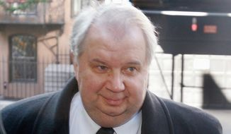 ** FILE ** Sergey Kislyak, Russia's ambassador to the United States. (Associated Press)