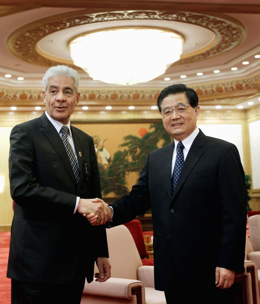 Libyan Foreign Minister Musa Kusa could be the key to Moammar Gadhafi's future in the troubled nation. (Associated Press)