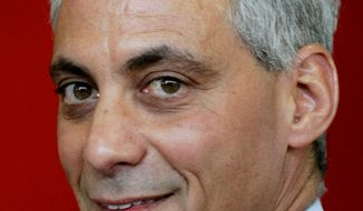Former White House Chief of Staff Rahm Emanuel garnered enough votes Tuesday to avoid a Chicago mayoral runoff. (Associated Press)