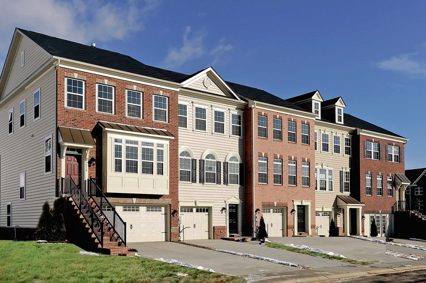 Liberty Homes is building 43 town homes at the Landing at Emerson, near commuter routes and shopping centers in Columbia. The homes have 1,782 to 1,935 finished square feet, with base prices from the $340,000s.