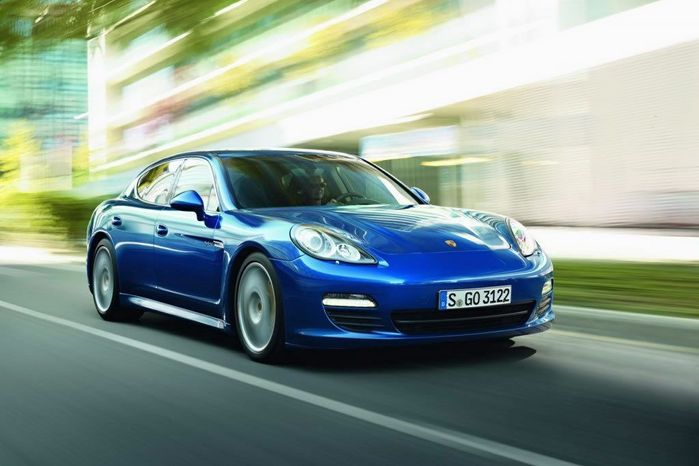 The Panamera S Hybrid is the most fuel efficient Porsche of all time.