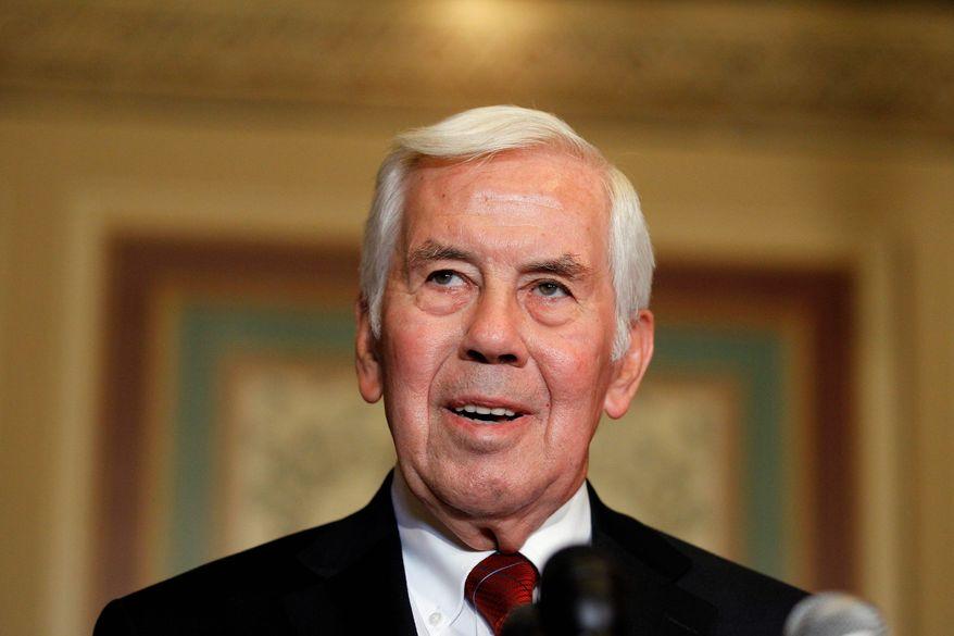 Sen. Richard G. Lugar, Indiana Republican