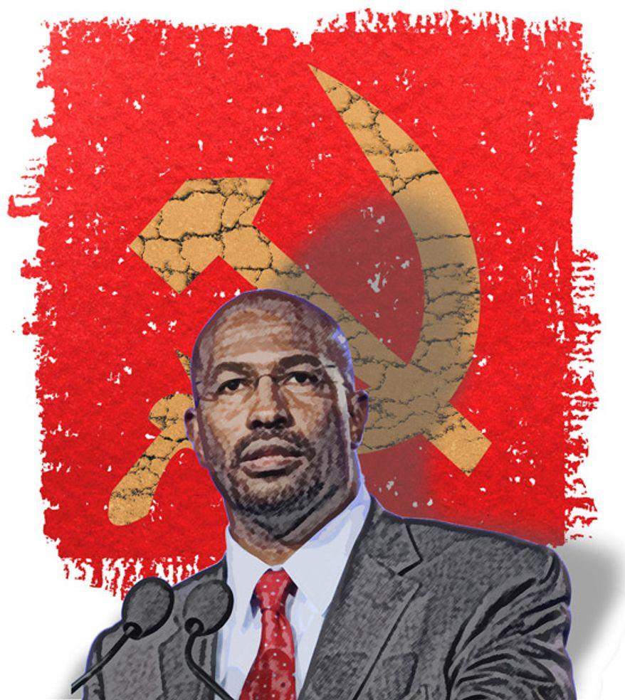 Illustration: Van Jones by Greg Groesch for The Washington Times