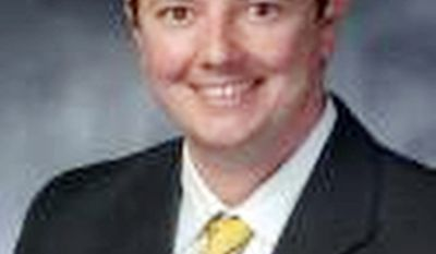 """Missouri state Rep. Eric Burlison says his compact proposal isn't health care reform, but rather """"governance reform."""""""