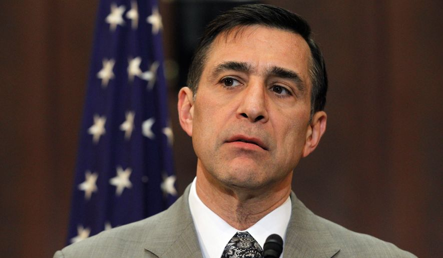 Rep. Darrell Issa, California Republican