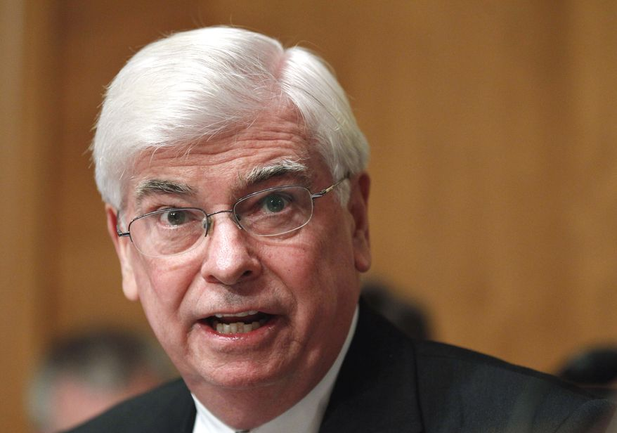 Former Sen. Christopher J. Dodd, Connecticut Democrat, is taking over as head of the Motion Picture Association of America, the group announced Tuesday, March 1, 2011. (AP Photo/Manuel Balce Ceneta, File)