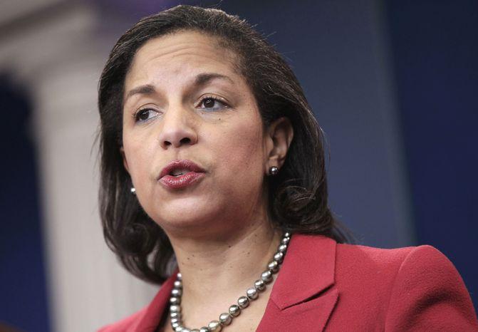 ** FILE** Susan Rice, U.S. ambassador to the United Nations (Associated Press)