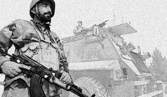 Illustration: Afghan surge