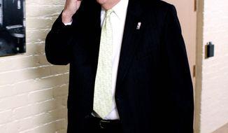 "Rep. Peter T. King, New York Republican, will examine al Qaeda's latest ""dangerous tactic."" (Associated Press)"