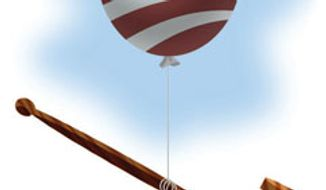 Illustration: Higher justice by Alexander Hunter for The Washington Times