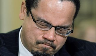 Rep. Keith Ellison, Minnesota Democrat (Associated Press) **FILE**