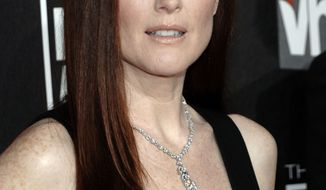 ** FILE ** In this Jan. 14, 2011, file photo, Julianne Moore arrives at the 16th Annual Critics' Choice Movie Awards in Los Angeles. (AP Photo/Dan Steinberg. File)