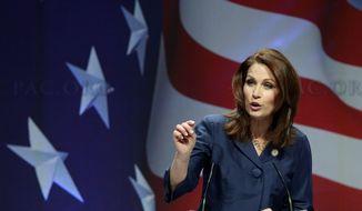 **FILE** Rep. Michele Bachmann, Minnesota Republican (Associated Press)