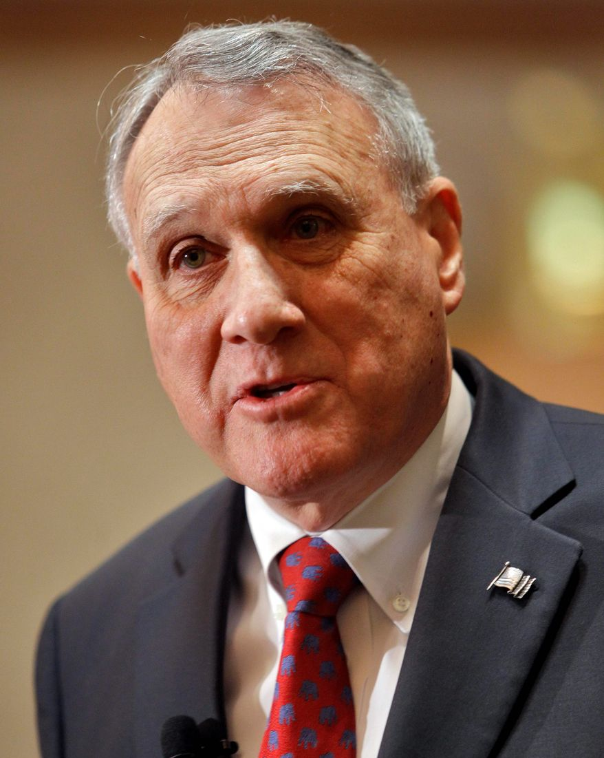 """We can get American energy on line if we simply grant the permits,"" said Sen. Jon Kyl. (Associated Press)"