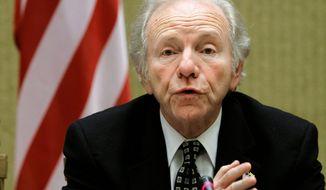 Sen. Joseph I. Lieberman, Connecticut independent