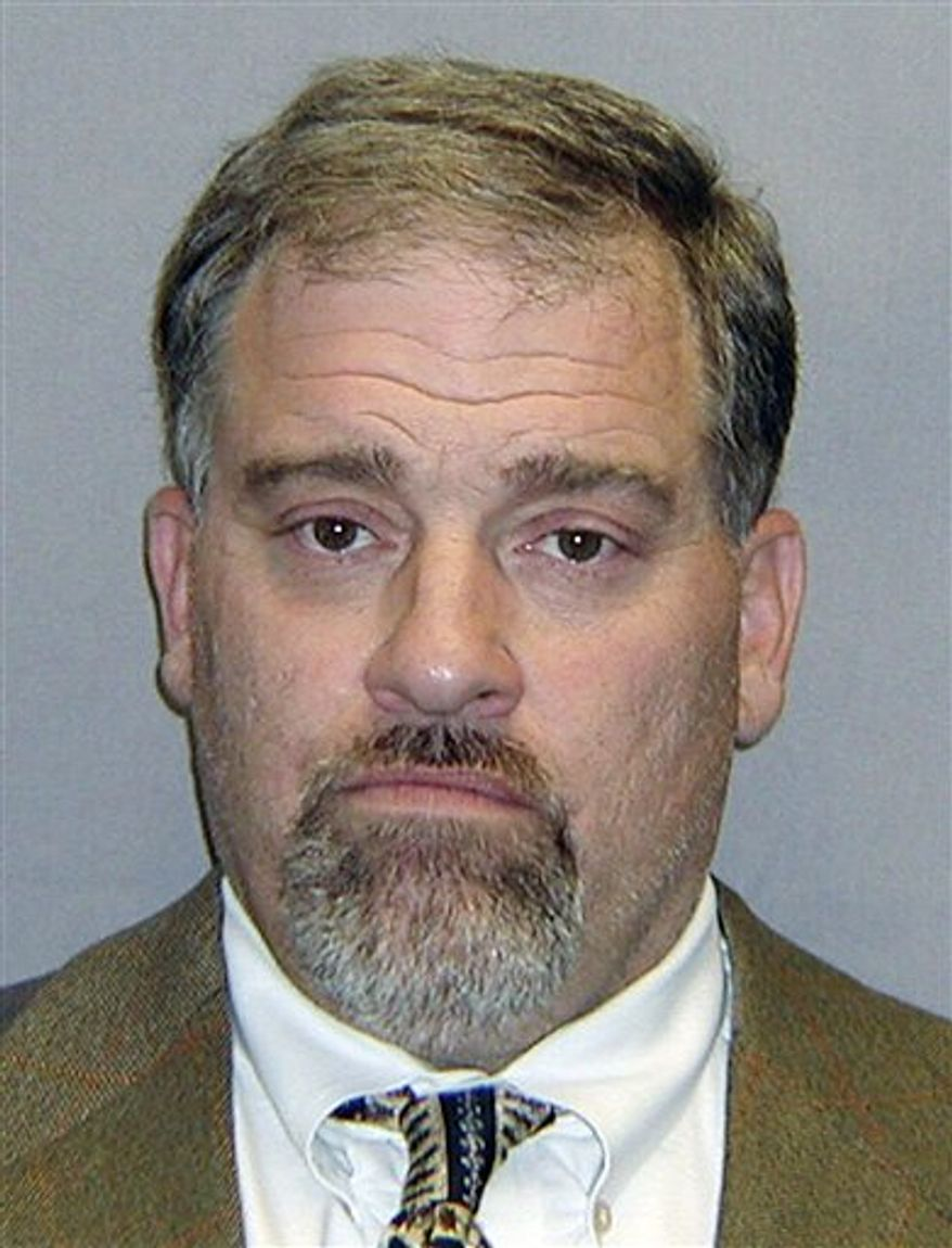 FILE - This undated file photo provided by the U.S. Marshals Service shows Rocco DeSimone, a Rhode Island native and former art dealer convicted of tax evasion after selling a painting by impressionist Claude Monet.  DeSimone took the stand in his trial Thursday, March 10, 2011, redirecting blame to the accountant he says handled his business dealings. (AP Photo//U.S. Marshals, File)