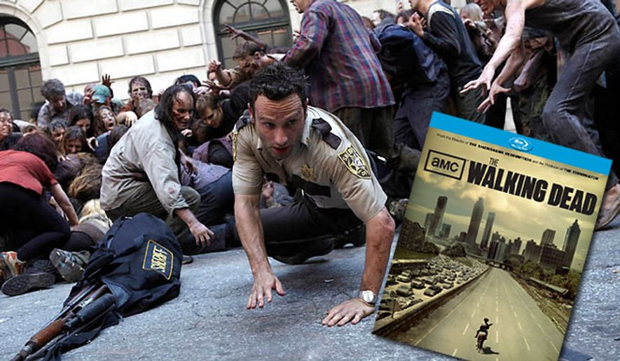 The Walking Dead: Season One from Anchor Bay Entertainment is now on Blu-ray.