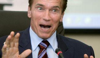** FILE ** Arnold Schwarzenegger (Associated Press)