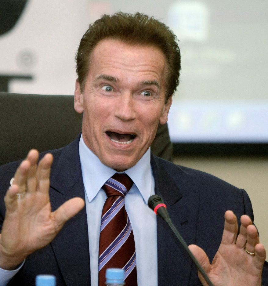 ** FILE ** Arnold Schwarzenegger (Associated Press)