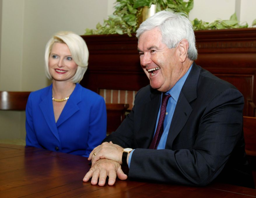 Former House Speaker Newt Gingrich and wife Callista are now documentary filmmakers. The documentary explores the effect the visit had on Poland's anti-communist opposition. (Associated Press)