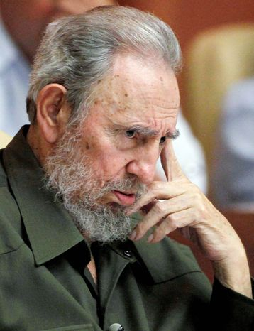 Fidel Castro, seen in August, says he gave up leadership of Cuba's Communist Party and all other official positions five years ago. (Associated Press)