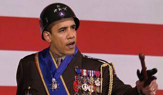 Illustration: Gen. Obama