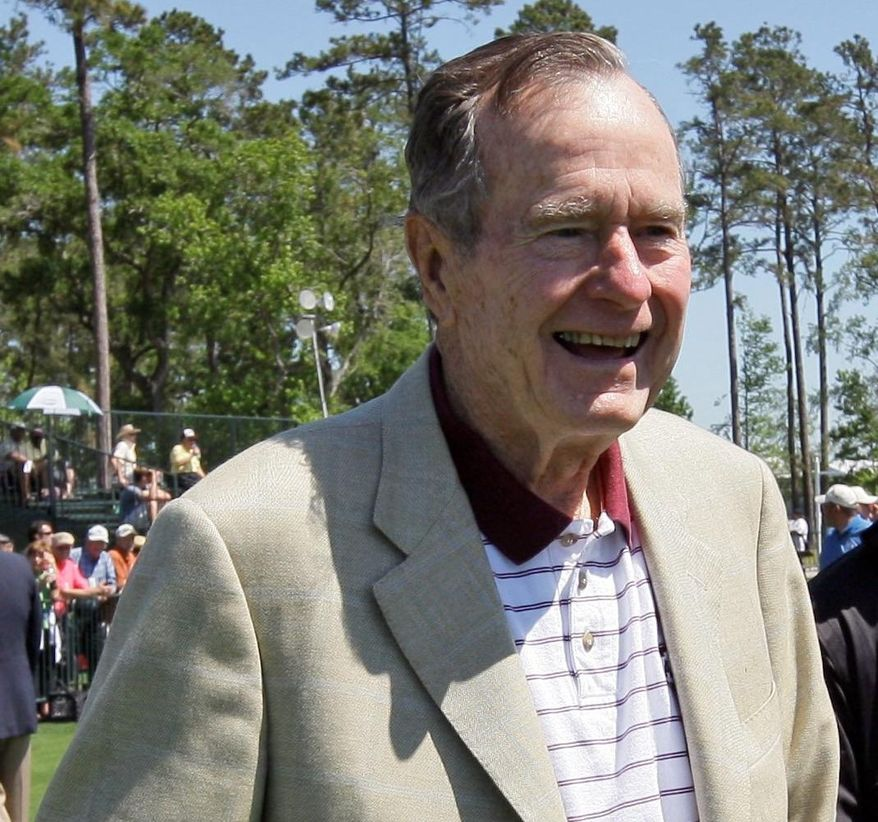 Former President George H.W. Bush (Associated Press)