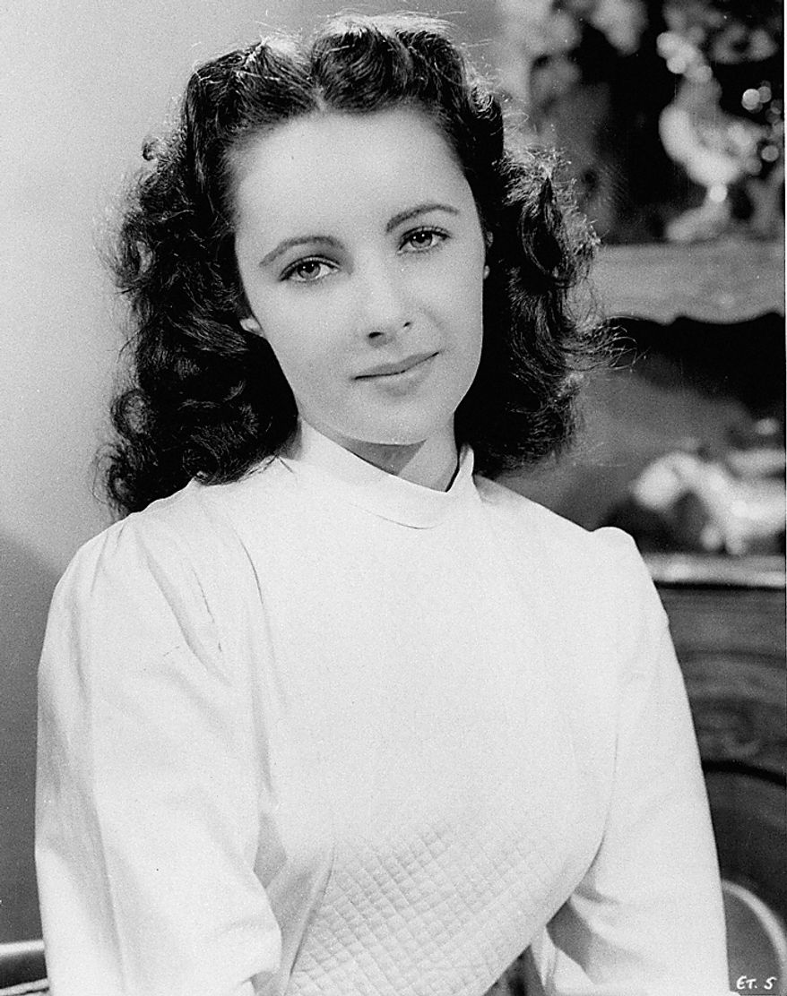 This Sept. 1946 file photo shows Elizabeth Taylor. Publicist Sally Morrison says the actress died Wednesday, March 23, 2011 in Los Angeles of congestive heart failure at age 79. (AP Photo/File)