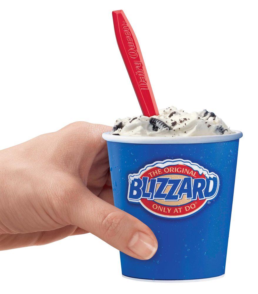Dairy Queen's Mini-Blizzard