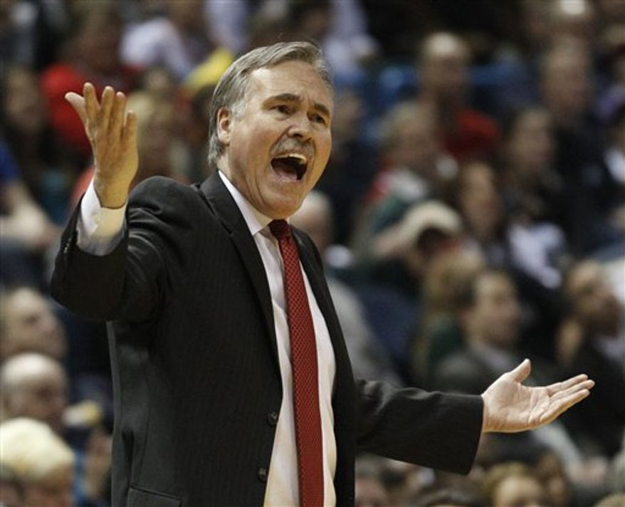 New York Knicks coach Mike D'Antoni. (Associated Press File)