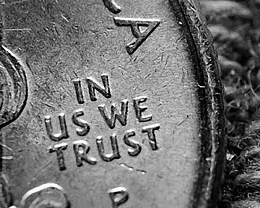 Illustration: In Us we trust
