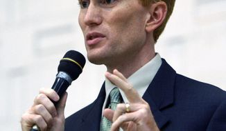 """ASSOCIATED PRESS PHOTOGRAPHS """"We cannot engage in each and every civil war all around the world,"""" Rep. James Lankford said."""