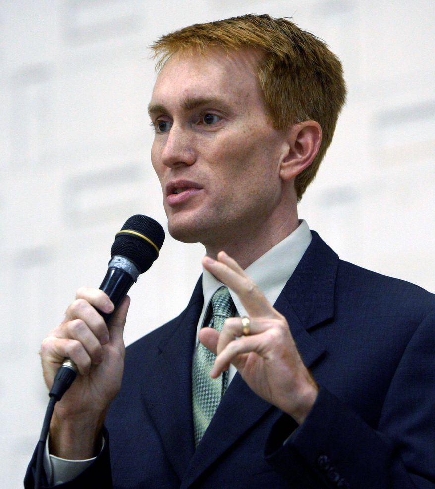 "ASSOCIATED PRESS PHOTOGRAPHS ""We cannot engage in each and every civil war all around the world,"" Rep. James Lankford said."