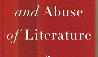 """In this book cover image released by Pantheon Books, """"The Use and Abuse of Literature,"""" by Marjorie Garber, is shown. (AP Photo/Pantheon)"""