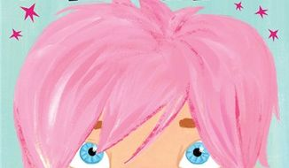 """In this book cover image released by Celebra Children's Books, an imprint of Penguin Young Reader's Group, """"The Boy With Pink Hair,"""" by celebrity blogger Perez Hilton and illustrated by Jen Hill, is shown.  The picture book, which tells of a boy with a """"shock of fabulous hair"""" and """"celebrates individuality and acceptance,"""" will be released in September 2011. (AP Photo/Celebra Children's Books)"""