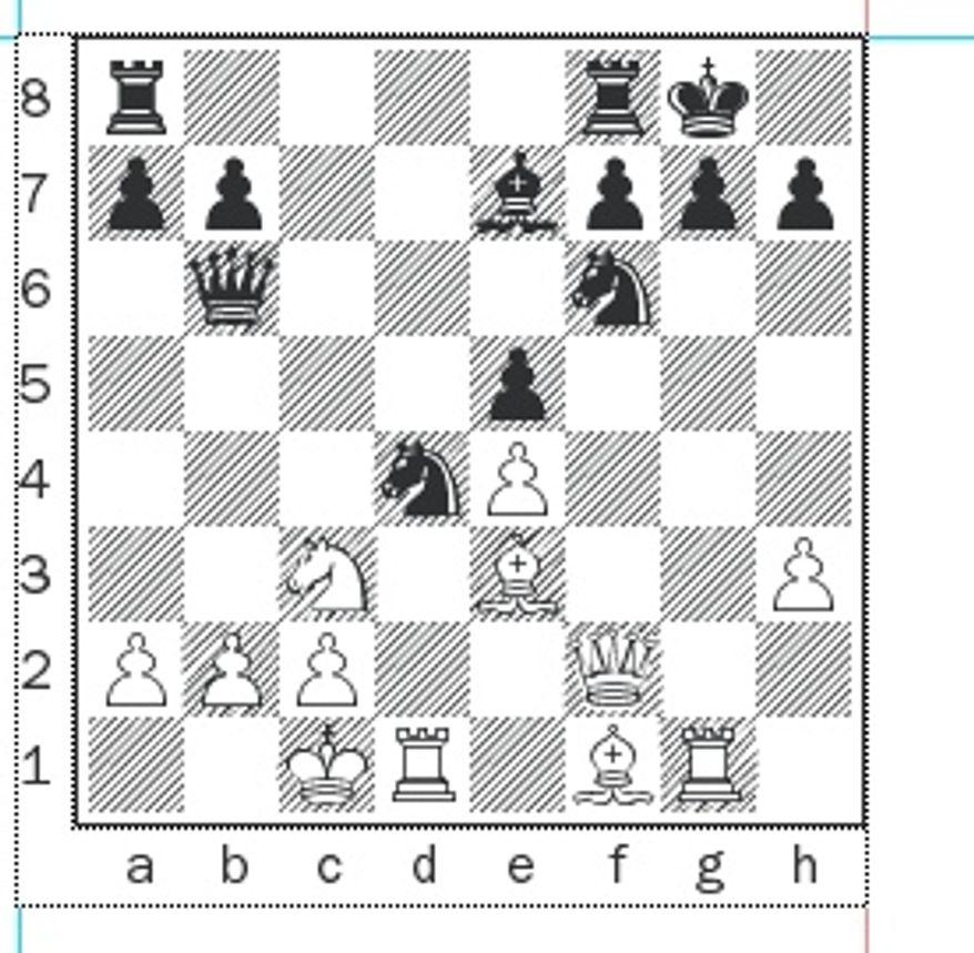 Korchnoi-Geller after 16...Nd4.