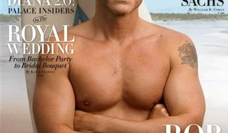 "In this magazine cover image taken by Annie Leibovitz exclusively for Vanity Fair, actor Rob Lowe is shown on the cover of the May 2011 issue of ""Vanity Fair."" (AP Photo/Annie Leibovitz exclusively for Vanity Fair) NO SALES"